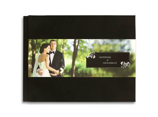personalized leather photobooks