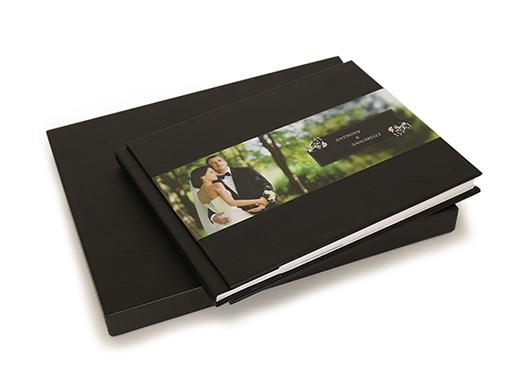 customized leather photobooks