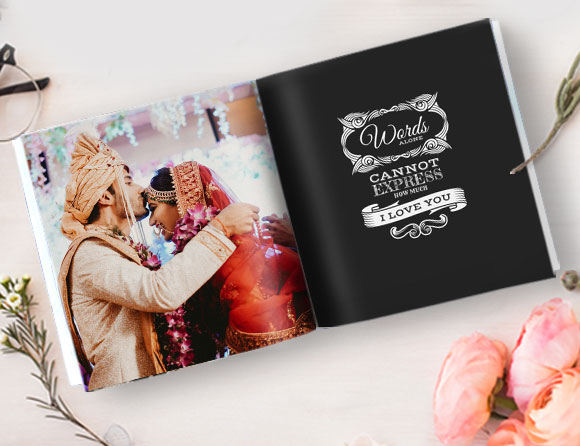 indian wedding album