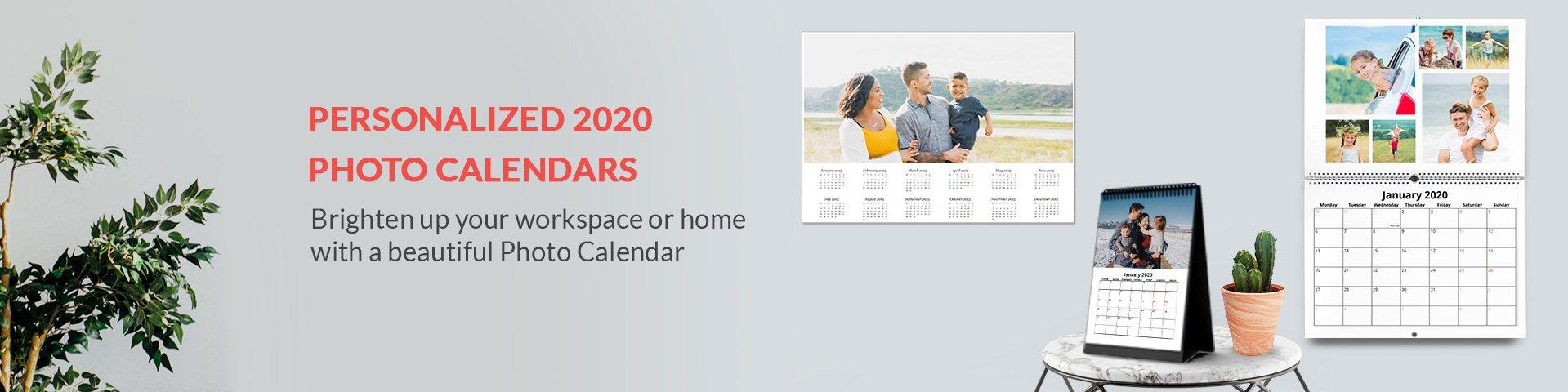 Customised Calendars 2020