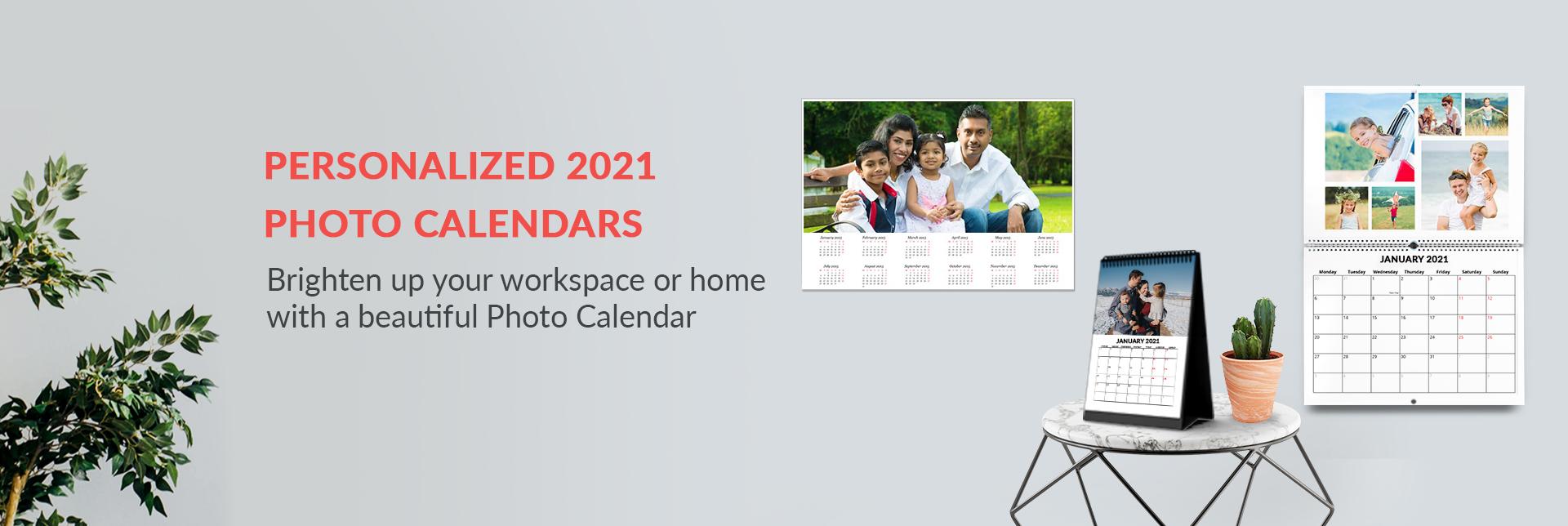 Customised Calendars 2021